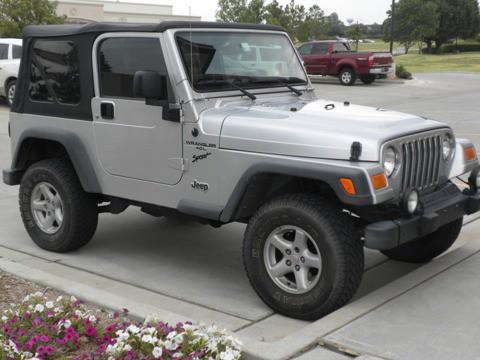 2004 Jeep Wrangler for $11,500
